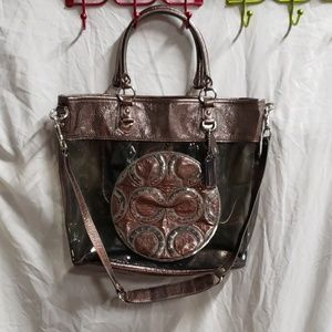 COACH AUTHENTIC TOTE CLEAR BAG